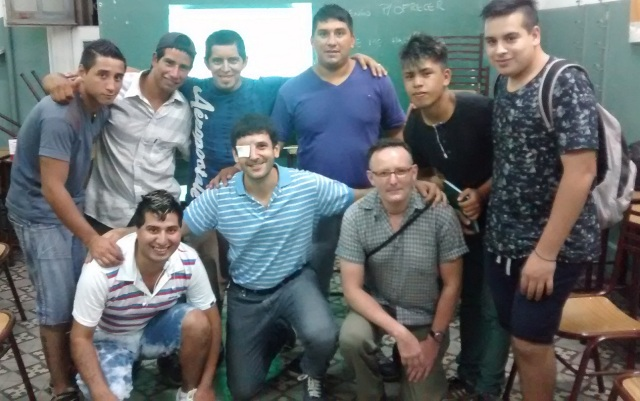 Escuela de gomeros 2016 - Jueves 11 de FEB
