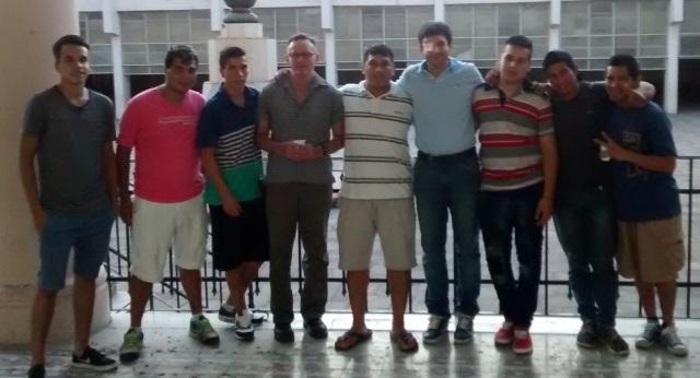 Foto grupal Escuela de gomeros 2016