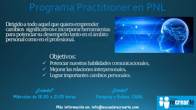 Flyer I Practitioner en PNL (Junio 2017)