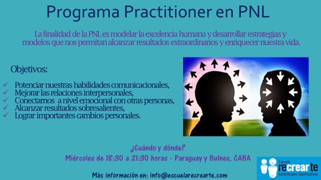 Flyer Practitioner en PNL (Junio 2017)